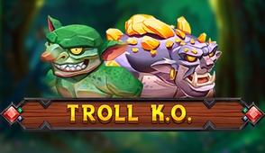 Увлекательный автомат Troll KO с 50 фиксированными линиями